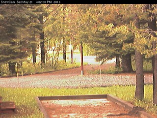Tamarack Resort Webcam - Cabin Snow Depth Image